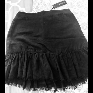 Woven Jordana mini skirt